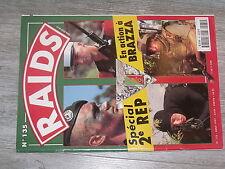 $$x Revue Raids N°135 Special 2e Regiment etranger parachutistes  Brazzaville