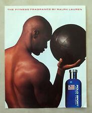 C155-Advertising Pubblicità-1998- RALPH LAUREN THE FITNESS FRAGRANCE