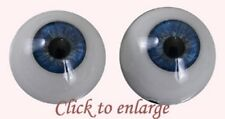 ~EyEcO EyEs PoLyGLaSs Eyes MiDniGhT StAr 20MM ~ REBORN DOLL SUPLIES