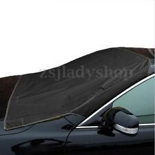Auto Windshield Snow Sun Cover Tarp Ice Scraper Frost Removal Car SUV Protector