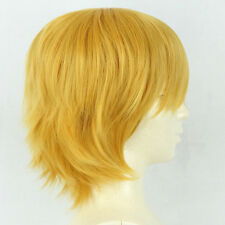 Fashion Short Straight Party cosplay costume anime wigs Halloween Hair +Free Cap