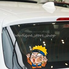 Creative cartoon Naruto Naruto hit the glass windows car stickers wall decals