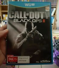 Call of Duty Black Ops II (2) for WII U - FREE POST