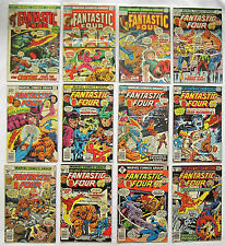 Fantastic Four Series 1 (1961-1996) Huge Lot of 84 Marvel Comics See Pics & List