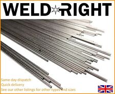 Weldright 10x IN ALLUMINIO ALU 4043 Barre di saldatura TIG Filler 3.2mm