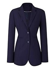LADIES NAVY BI-STRETCH SKIRT  SUIT UK SIZE 22 EU50  US18  100% POLYERSTER