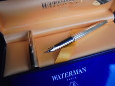 WATERMAN CF C/F PENNA STILOGRAFICA PLACATA ORO 18K+SCATOLA+GAR Fountain pen Gold