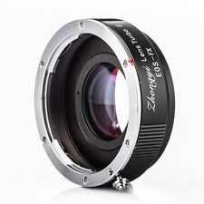 Zhongyi Turbo II Focal Reducer Booster Lens Adapter Canon EOS EF to Fujifilm FX