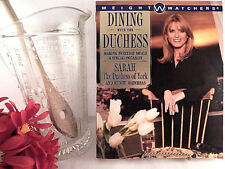Dining With The Duchess Cookbook Weight Watchers 1999 Paperback Diet Recipe Book