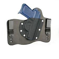 FoxX Leather & Kydex IWB Hybrid Holster Makarov P64 Polish Black Right Tuckable