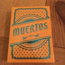 Muertos - Day of the Dead Sun Deck Playing Cards Deck Brand New Sealed