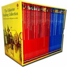 MY THIRD CHILDREN READING LIBRARY 40 BOOK SET SLIPCASE USBORNE COLLECTION NEW