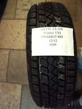 ARTIC CLAW WINTER TXI 195/60R15 88T BRAND NEW TIRE