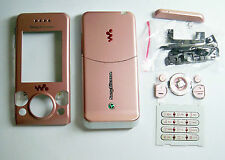 Pink Fascia housing facia case faceplate cover for Sony Ericsson W580 W580i