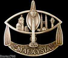 SOUVENIR 3D METAL FRIDGE MAGNET OF MALAYSIA FAMOUS ATTRACTION IN WAU BULAN- HQ