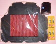 Service kit:- Plugs , Air & Oil Filter to fit HONDA NT NT650 V Deauville 1998-05
