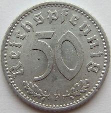TOP! 50 REICHSPFENNIG 1941 F in VORZÜGLICH !!!