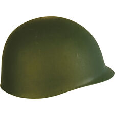 Kombat Fully Adjustable Olive Green M1 Plastic Helmet Suitable for Adult or Kids