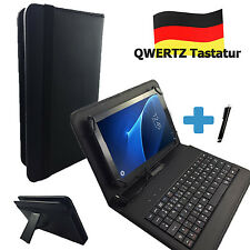 Deutsche Tastatur Hülle - Point of View Kids 7 zoll Tablet Tasche Qwertz