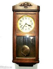 Uralt Kienzle Regulator Wanduhr Uhr mit Westminster Gong um 1900 Dachbodenfund
