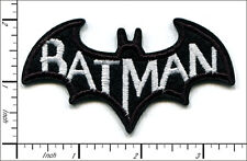 "20 Pcs Embroidered Sew or Iron on patches Batman Badge 3.38""x1.97"" AP012fA"