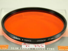 Original Cokin Filter Foto Photo Lens Orange 77mm 77 E77 France (5)