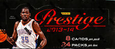 (2) 2013-14 Panini Prestige Basketball Sealed HOBBY Box LOT! *4 Hits Per Box*