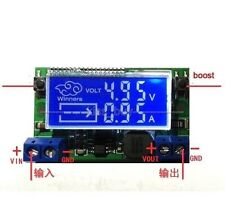 DC-DC step-down Buck power supply adjustable Charge module 5v 12v w LCD display