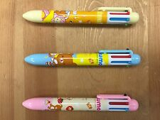 Kawaii San-X Rilakkuma 6 Color Ball Point Pen(0.7mm) - 3 Piece