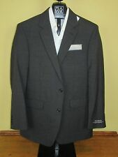 Jos A Bank classic collection solid Charcoal Grey jacket 44 Long Regular fit