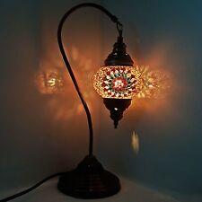 99p vente aux enchères turc marocain tiffany style table lampe de bureau lumière-uk top vendeur