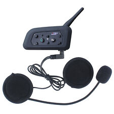 1200M BT Motorcycle Helmet Interphone Bluetooth handsfree headset for 6 Rider it