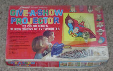 KENNER  GIVE-A-SHOW PROJECTOR 509 MARVEL HEROES  THOR  SPIDERMAN  KING KONG 1968