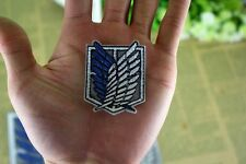 Attack on Titan Cosplay Scouting Legion Recon Corps Badge Patchs Embroidery #S