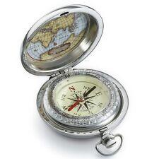 DALVEY - Edelstahl - Vintage - Kompass & Geschenk-Box - Explorer L.Compass - NEU