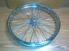 "40 Spoke 21"" Front Spool Hub Wheel for Harley, Chopper, Custom"