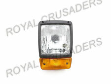 JCB BACKHOE DUMPERS FRONT HEADLIGHT WITH H4 BULB AND INDICATOR ASSEMBLY