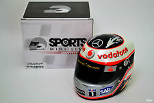 SCALA 1/2, FERNANDO ALONSO MCLAREN MERCEDES 2007 CASCO f1