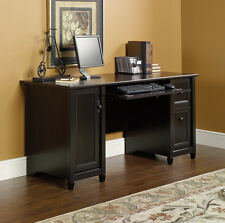 NEW Sauder Furniture 408558 Edge Water Home Office Black Executive Computer Desk
