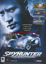 "Spyhunter Nowhere To Run ""Midway"" 2006 Magazine Advert #4700"
