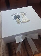 Wedding Keepsake Box great Gift To Bride & Groom On Their SPECIAL DAY