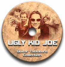 UGLY KID JOE HEAVY ROCK GUITAR TABS TABLATURE SONG BOOK TUITION SOFTWARE CD