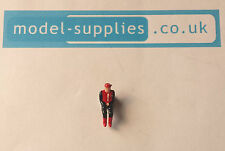 Dinky 104 Captain Scarlet SPV reproduction painted plastic Capt Scarlet figure
