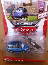 "DISNEY CARS DIECAST - ""Chuck ""Choke"" Cables - Deluxe"" - Combined Postage"