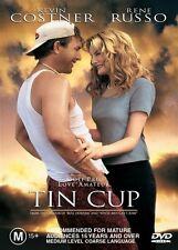Tin Cup (DVD) Kevin Costner Rene Russo #0640