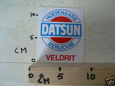 STICKER,DECAL DATSUN HOEVENAARS BERLICUM VELDRIT CYCLING