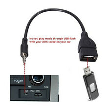1pcs 3.5mm Converter Male Audio Jack to USB 2.0 Type A Female Adapter Cable