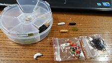 4 DZN Size 8  BH Rubber Grub Kit - Panfish , Trout, Carp, Crappie
