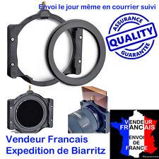 """PORTE FILTRE + BAGUE 72 MM POUR FILTRES Serie Z LEE TIFFEN COKIN 4X4"""" 4X5"""" 10x10"""