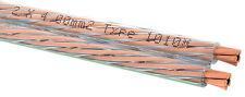 OEHLBACH Speaker Wire 40 Lautsprecherkabel  Nr. 1010 transparent 2 x 4,0 mm² Neu